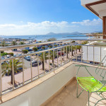 Puerto Pollensa apartment with sea view